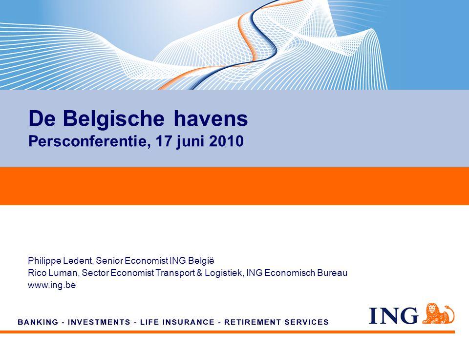 Philippe Ledent Senior Economist, ING België Philippe.ledent@ing.be +32 2 547 31 61 De Belgische economie: de wind in de zeilen?