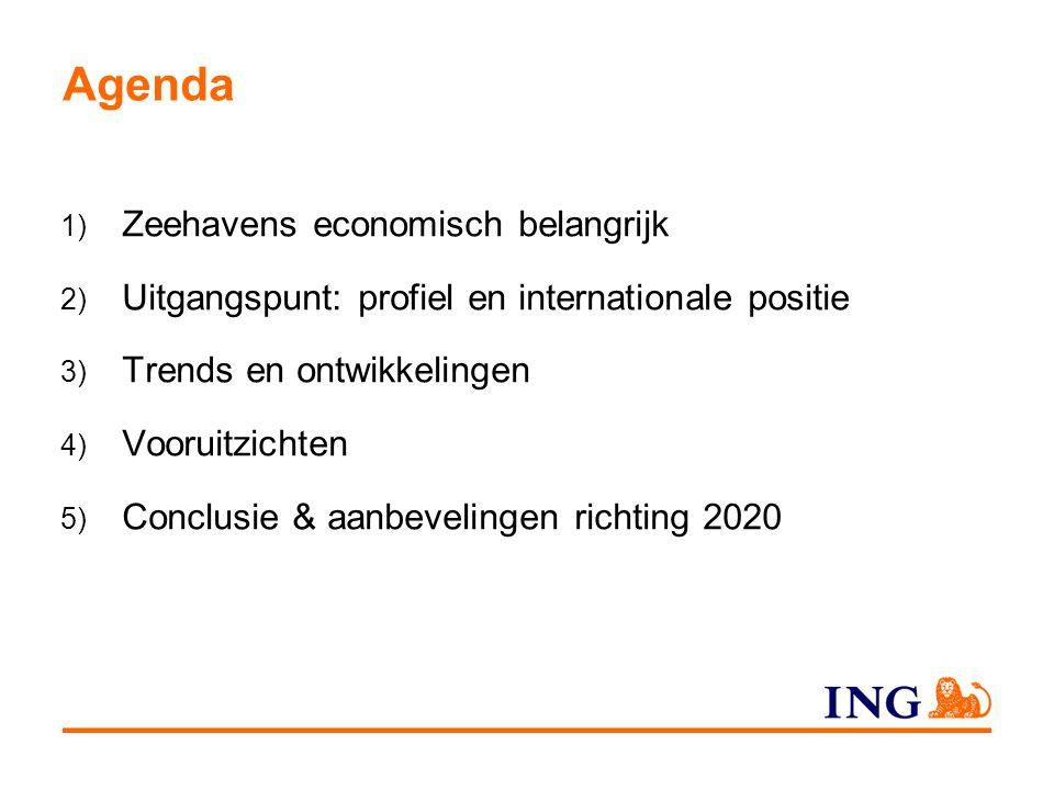 Agenda 1) Zeehavens economisch belangrijk 2) Uitgangspunt: profiel en internationale positie 3) Trends en ontwikkelingen 4) Vooruitzichten 5) Conclusie & aanbevelingen richting 2020