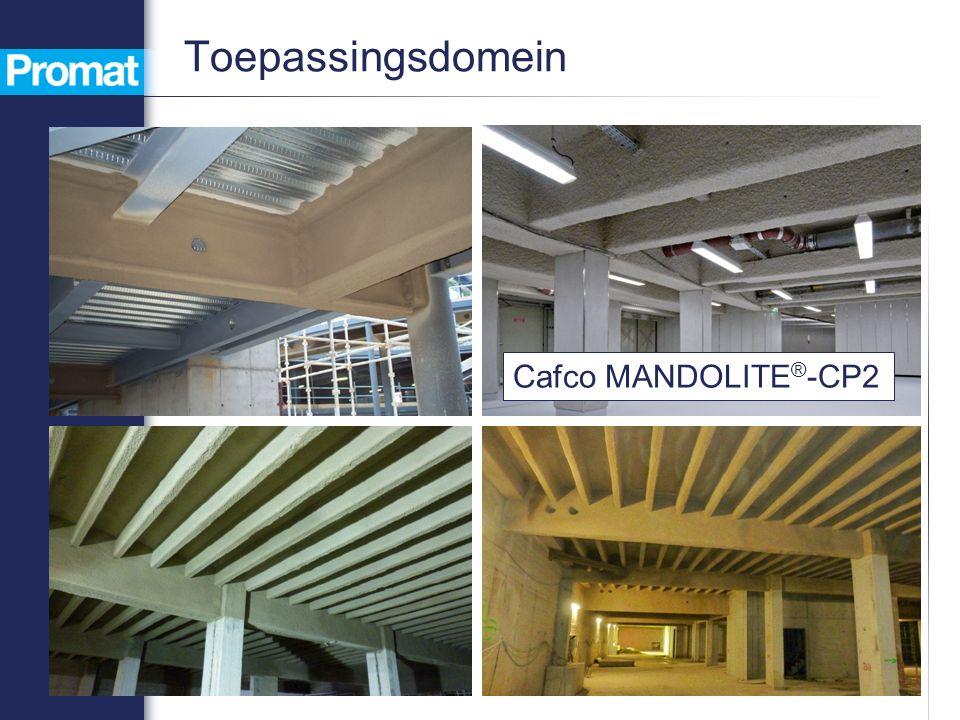 Toepassingsdomein Cafco MANDOLITE ® -CP2