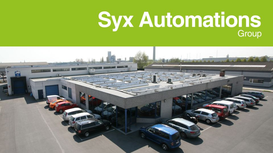 SYX AUTOMATIONS GROUP INTERNATIONAL Syx Automations Group International Syx Automations NVSyx Automations BVSyx Automations IndiaSyx Automations LtdSyx Graphics Management 60% 40%