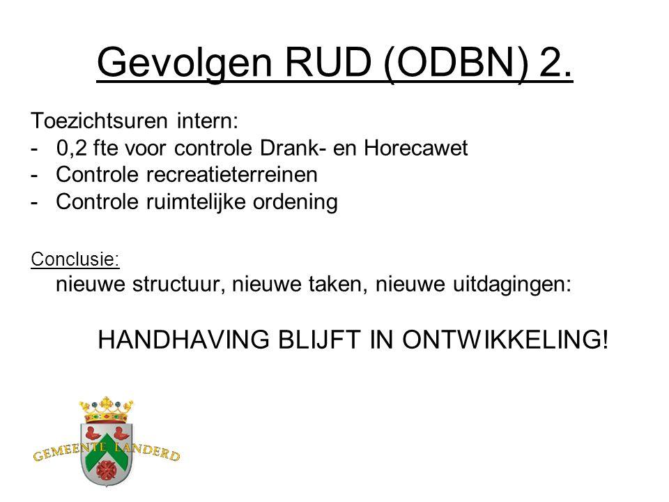 Gevolgen RUD (ODBN) 2.