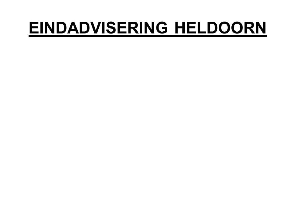 EINDADVISERING HELDOORN