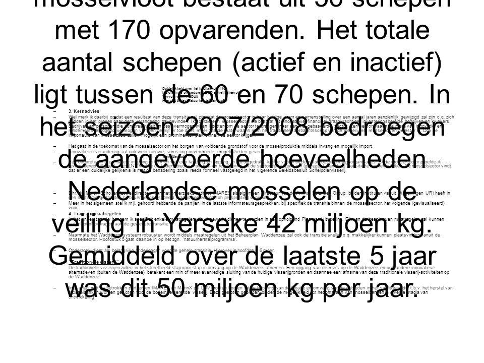 Met name in de media is het beeld opgeroepen dat er geen toekomst meer is voor de mosselsector in Nederland.