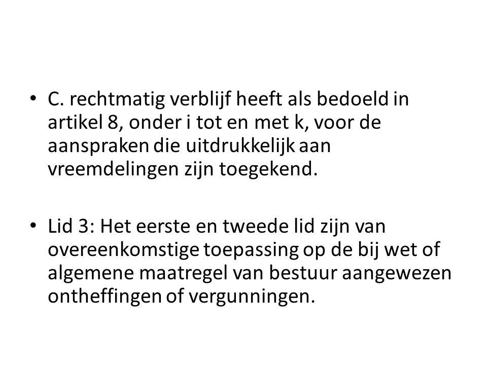 Bijstand Participatiewet Artikel 11 Lid 1: Iedere in Nederland woonachtige Nederlander die hier te lande in zodanige omstandigheden verkeert of dreigt te geraken dat hij niet over de middelen beschikt om in de noodzakelijke kosten van het bestaan te voorzien, heeft recht op bijstand van overheidswege