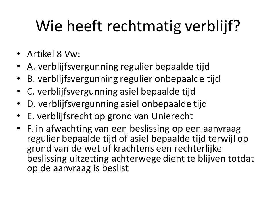 Lid 2: Met de Nederlander, bedoeld in het eerste lid, wordt gelijkgesteld de hier te lande woonachtige vreemdeling die rechtmatig in Nederland verblijf houdt in de zin van artikel 8, onderdelen a tot en met e en l van de Vreemdelingenwet 2000, met uitzondering van de gevallen, bedoeld in artikel 24, tweede lid, van de richtlijn 2004/38/EG.