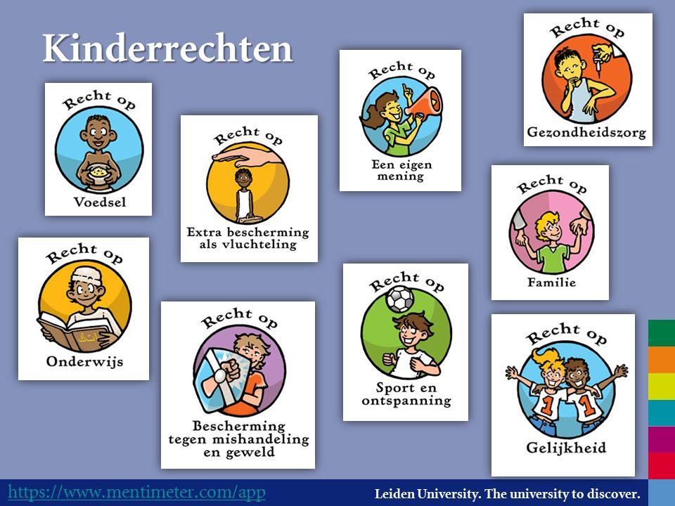Leiden University.The university to discover. Waar te vinden.