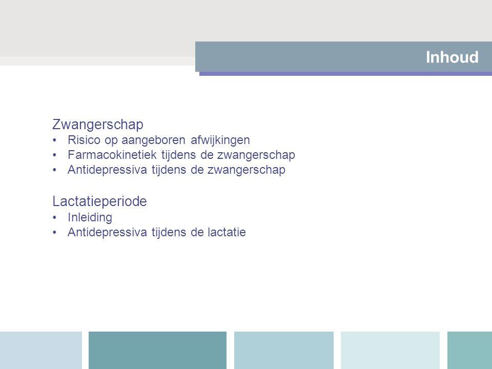 Leesadvies Leesadviezen: Drugs in Pregnancy and lactation (Briggs).