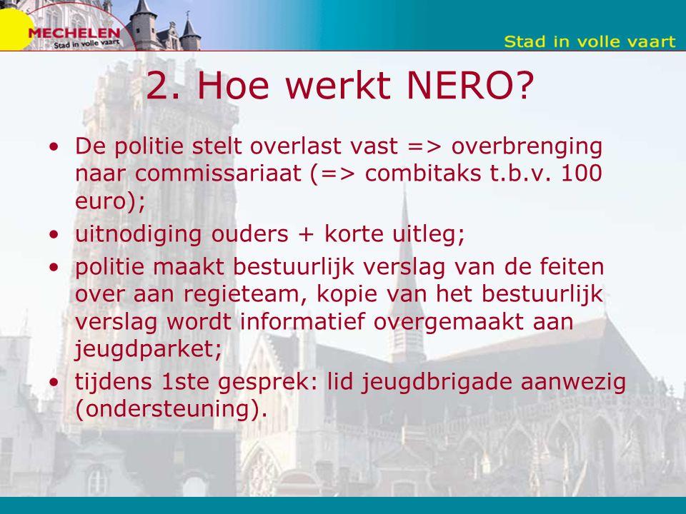 5.2.Krachtpunten NERO Snelle reactie; Signaalfunctie; Constructief t.a.v.