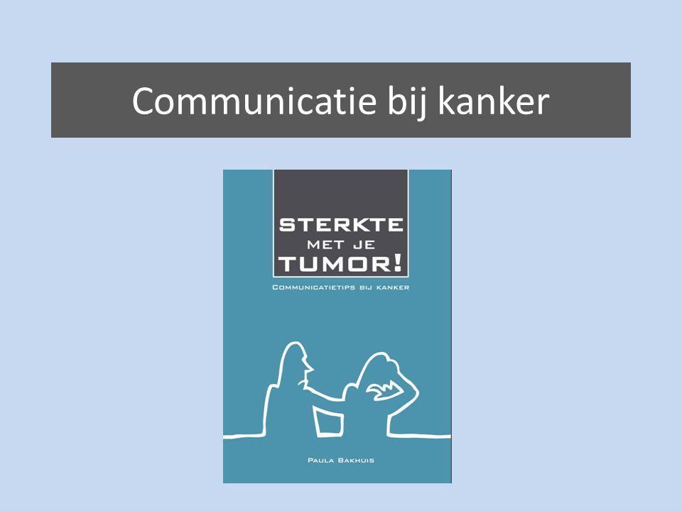 Communicatie bij kanker