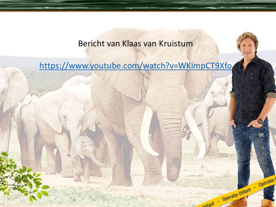 Bericht van Klaas van Kruistum https://www.youtube.com/watch v=WKimpCT9Xfo