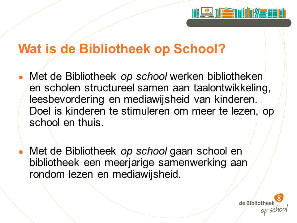 Wat is de Bibliotheek op School.