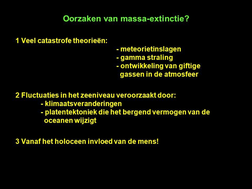 5 Geologie van België In één geologische doorsnede ergens in Vlaanderen zit de (bijna) volledige geologische geschiedenis van België vervat