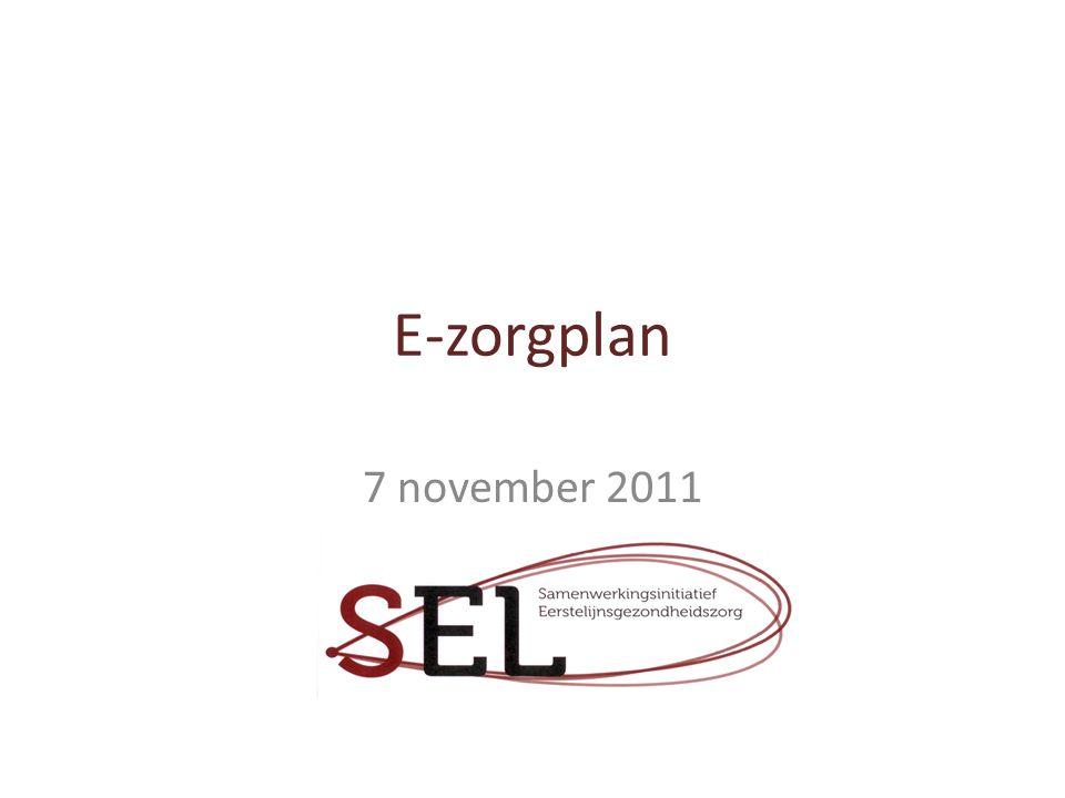 E-zorgplan 7 november 2011