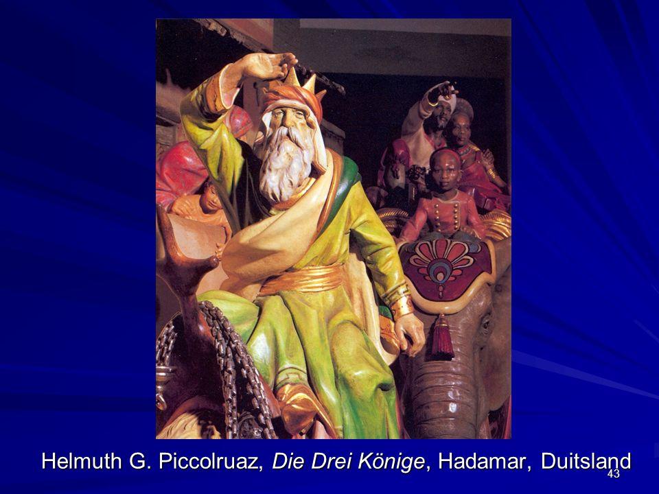Helmuth G. Piccolruaz, Die Drei Könige, Hadamar, Duitsland 43