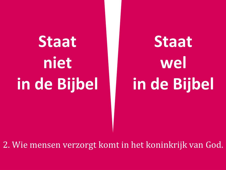 Staat niet in de Bijbel