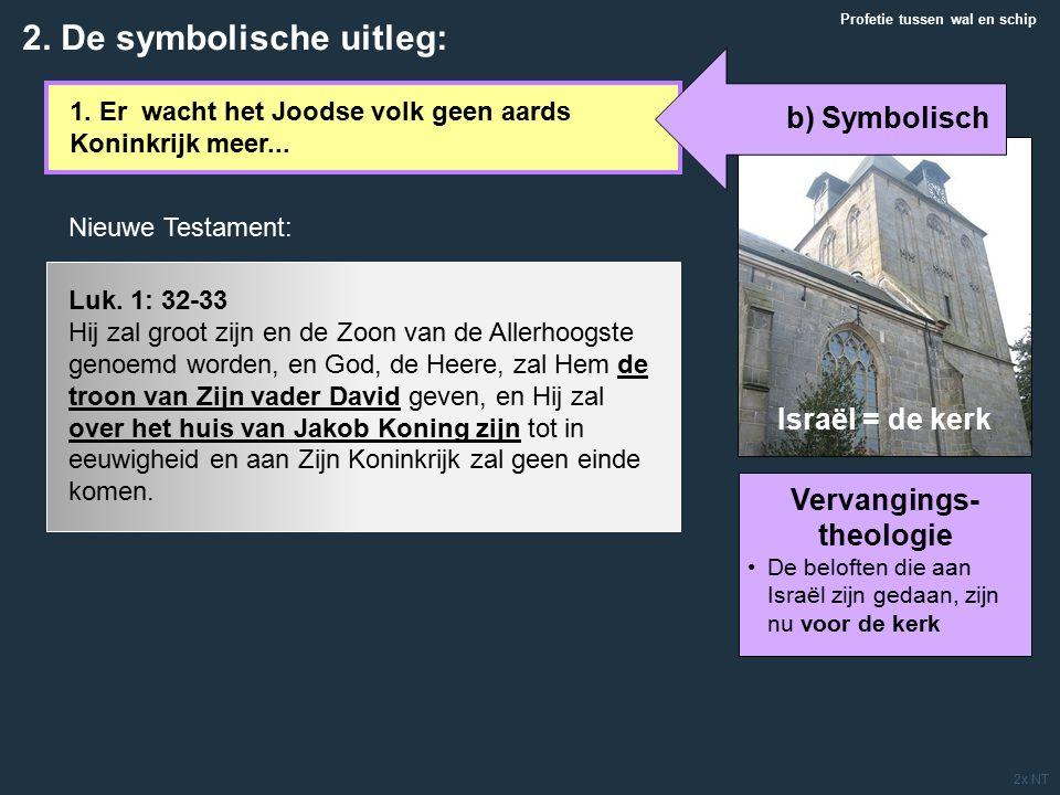 1. Er wacht het Joodse volk geen aards Koninkrijk meer...