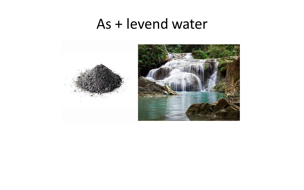 As + levend water