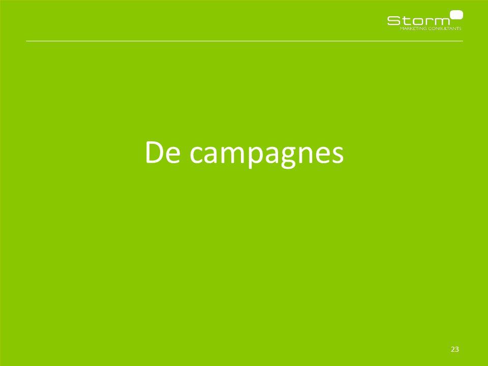 De campagnes 23