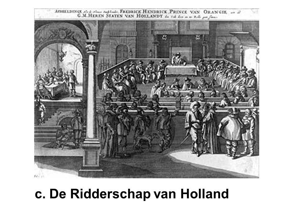 c. De Ridderschap van Holland