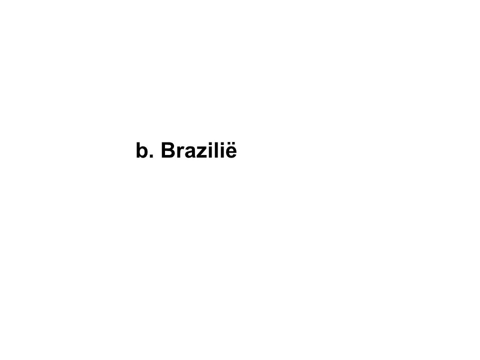 b. Brazilië