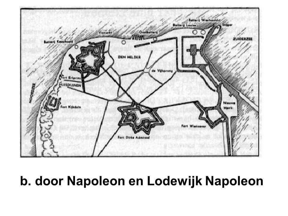 b. door Napoleon en Lodewijk Napoleon