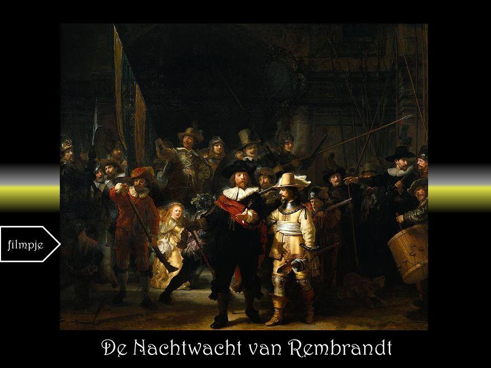 De Nachtwacht van Rembrandt filmpje