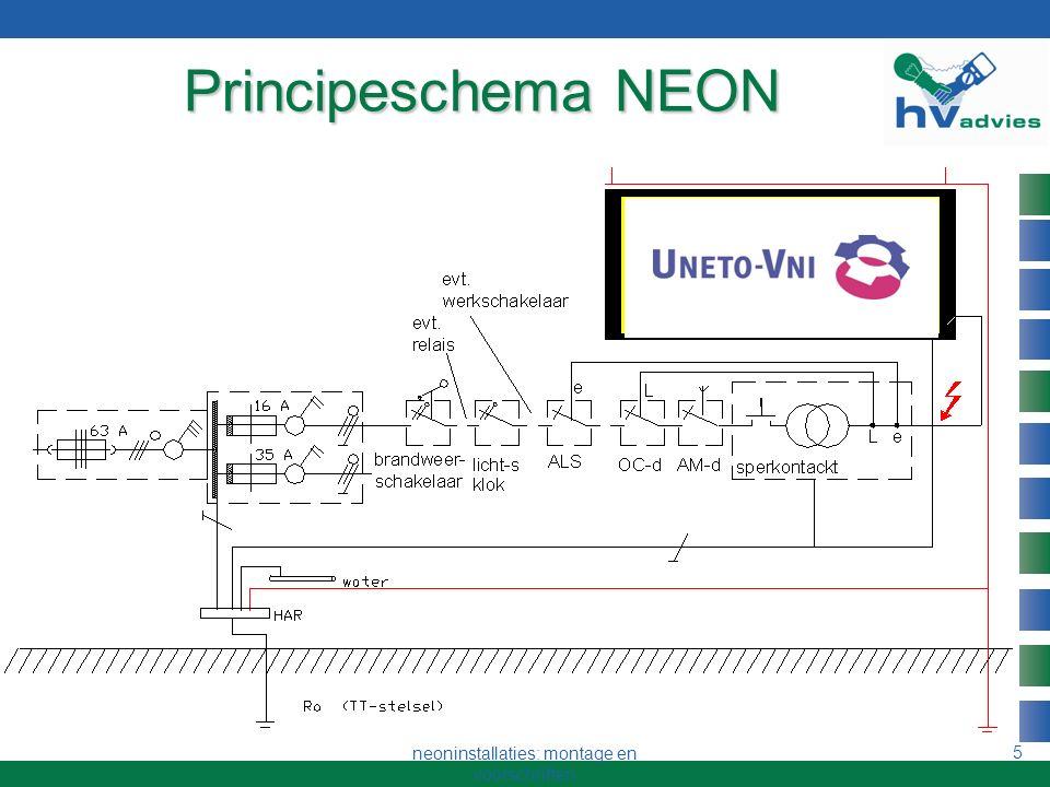 neoninstallaties: montage en voorschriften 4 Doel van cursus Het kunnen ontwerpen en bouwen van NEON- installaties voor reclame-doeleinden Het hantere