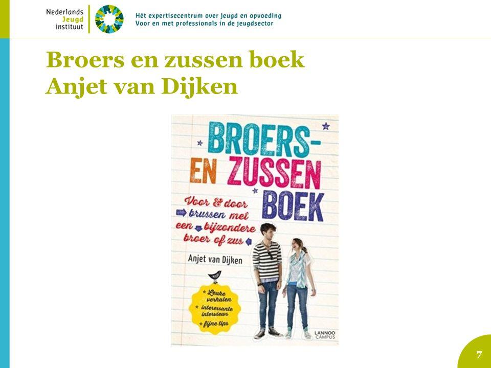 Broers en zussen boek Anjet van Dijken 7