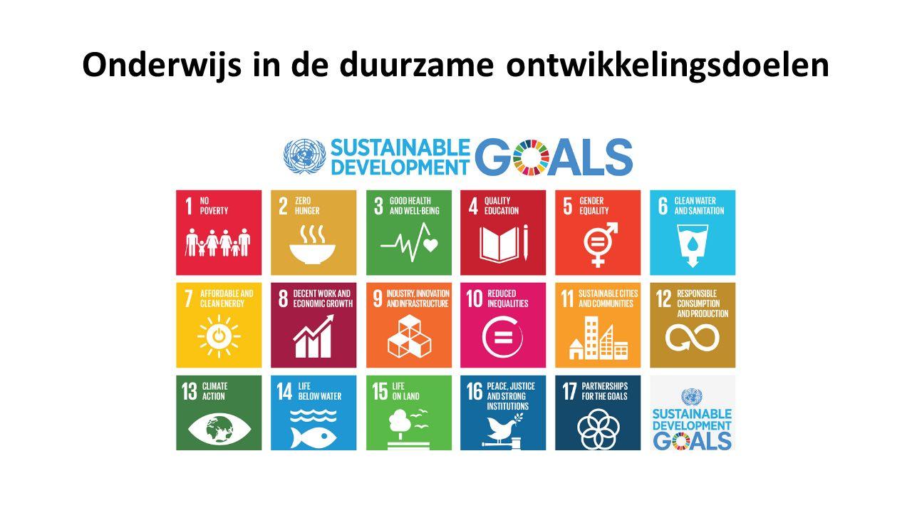 SDG 4 : Gelijke toegang tot kwaliteitsvol onderwijs verzekeren en levenslang leren bevorderen
