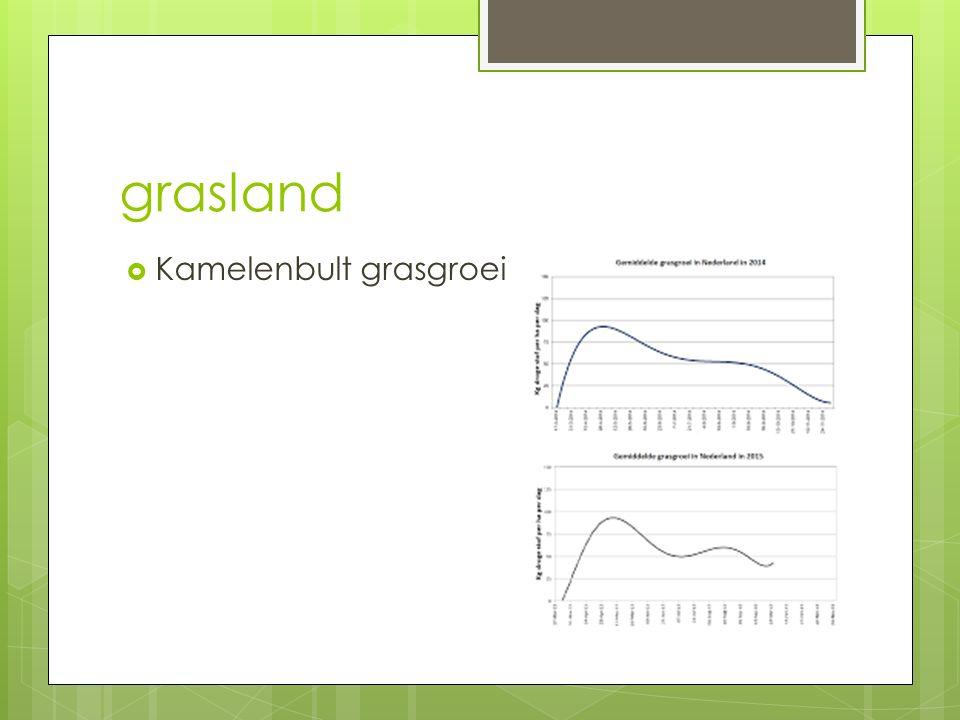 Grasland h3  Bemesting:  Minerale mest  Dierlijke mest