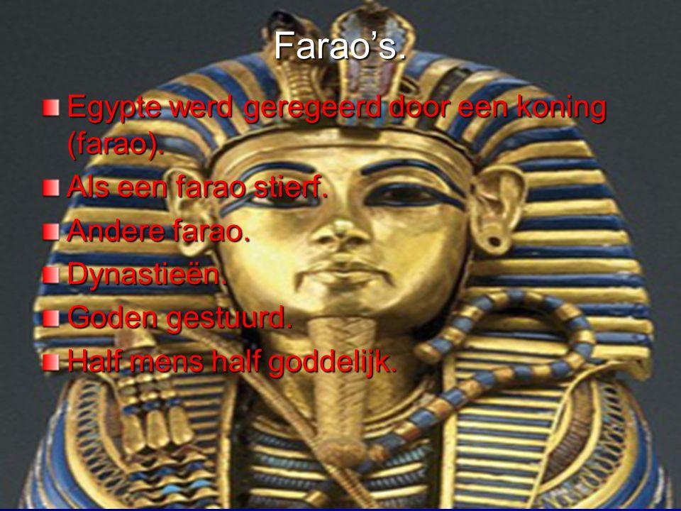 Wie waren de oude Egyptenaren Afrikaans volk.3000 jaar.