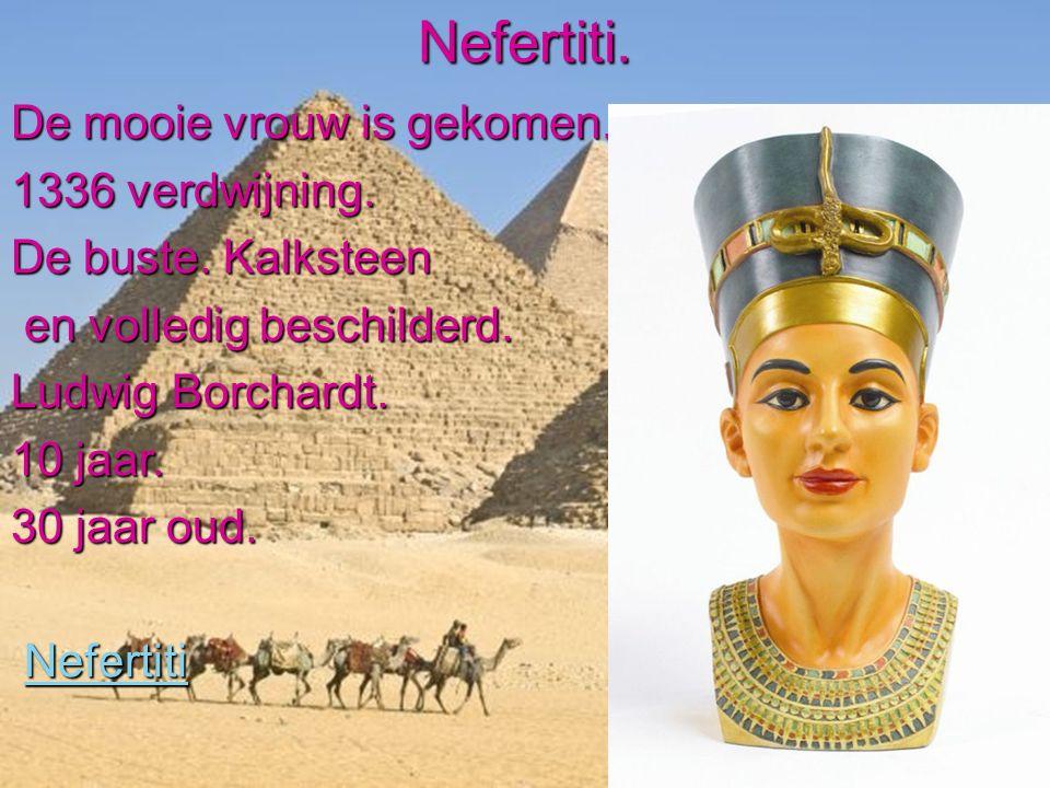 Toetanchamon.12e farao.Van 18e eeuw voor Christus.