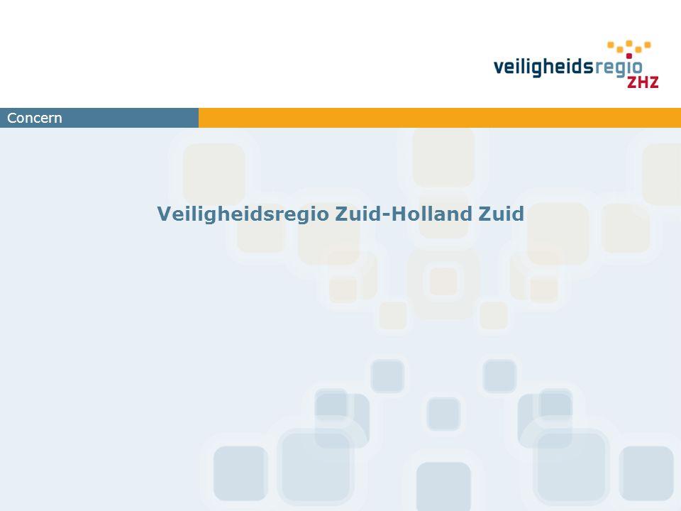 Concern Veiligheidsregio Zuid-Holland Zuid