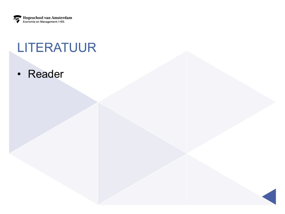 LITERATUUR Reader