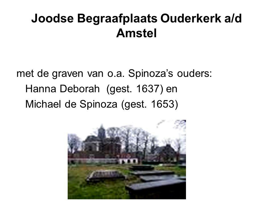 Joodse Begraafplaats Ouderkerk a/d Amstel met de graven van o.a.