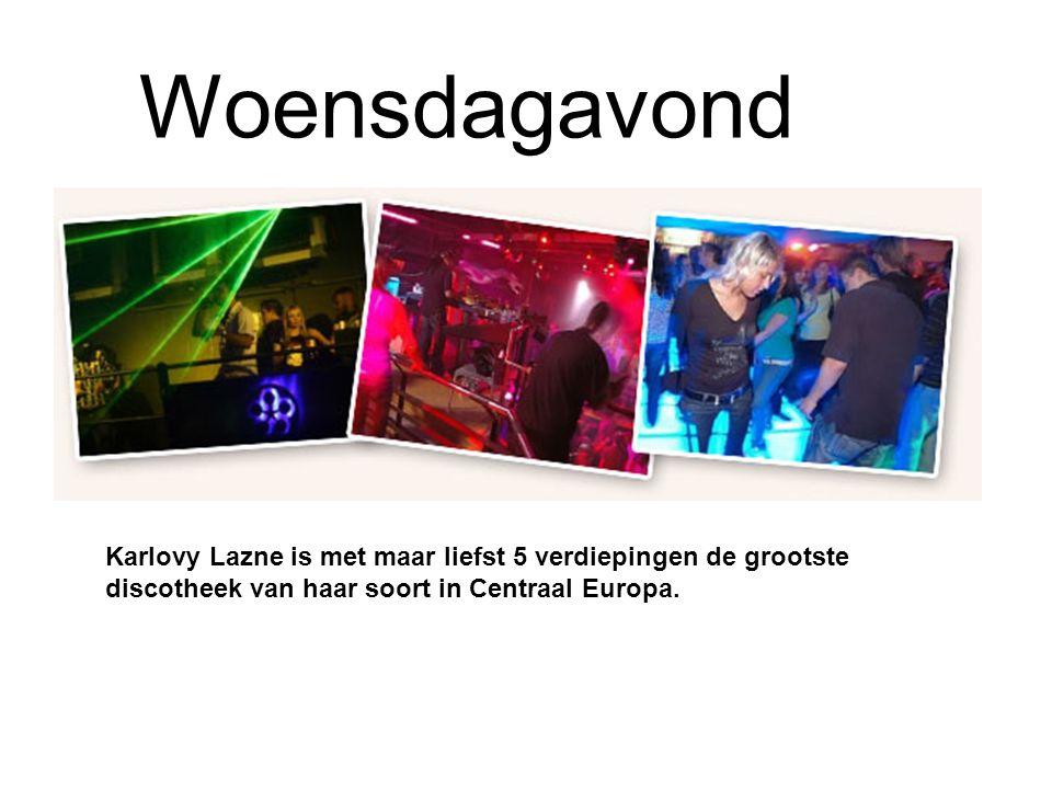 Karlovy Lazne is met maar liefst 5 verdiepingen de grootste discotheek van haar soort in Centraal Europa.