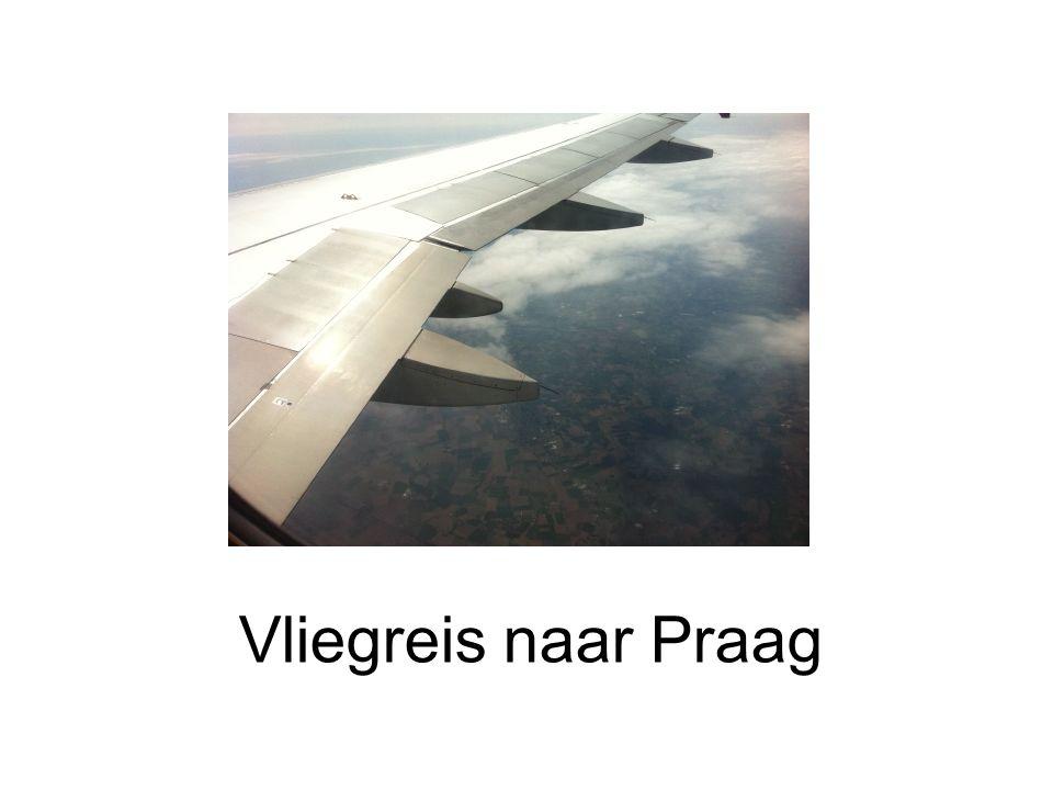 Vliegreis naar Praag