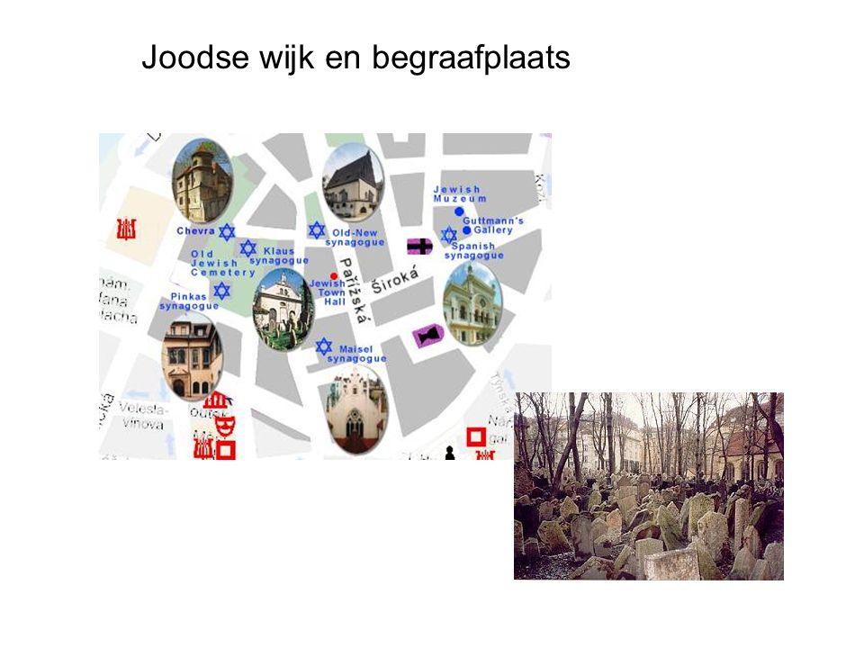 Joodse wijk en begraafplaats