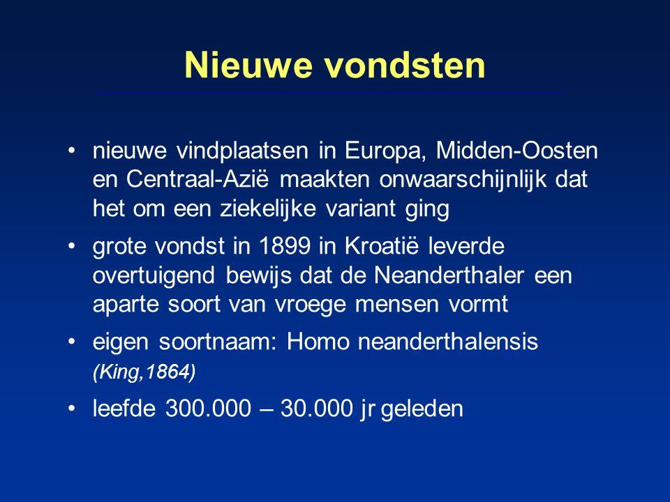 Noordzee Noordzee is rijkste pleistocene schatkamer van Europa tijdens pleistoceen was Noordzee droog en koud steppegebied met meanderende rivieren in dit gebied leefden mogelijk een paar honderd Neanderthalers door klimaatverandering 12.000 jr geleden stijging zeespiegel waardoor steppe onder water kwam