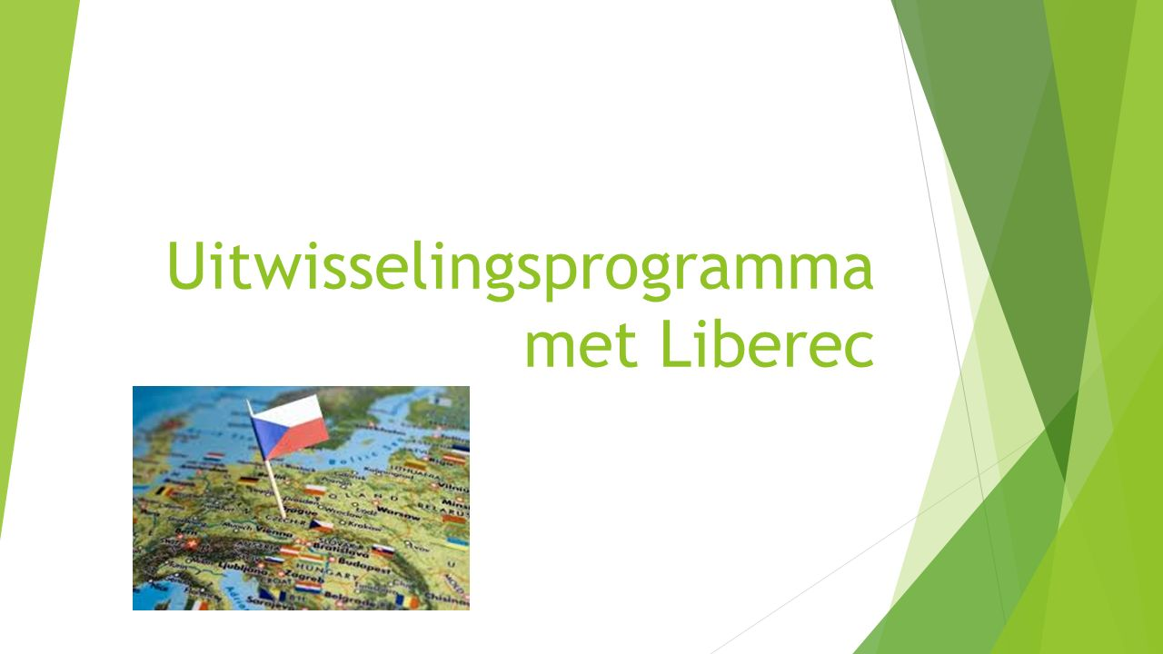 Uitwisselingsprogramma met Liberec