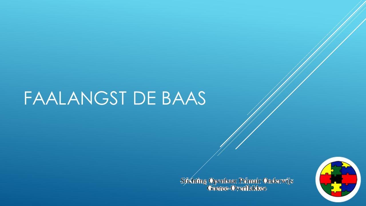 FAALANGST DE BAAS