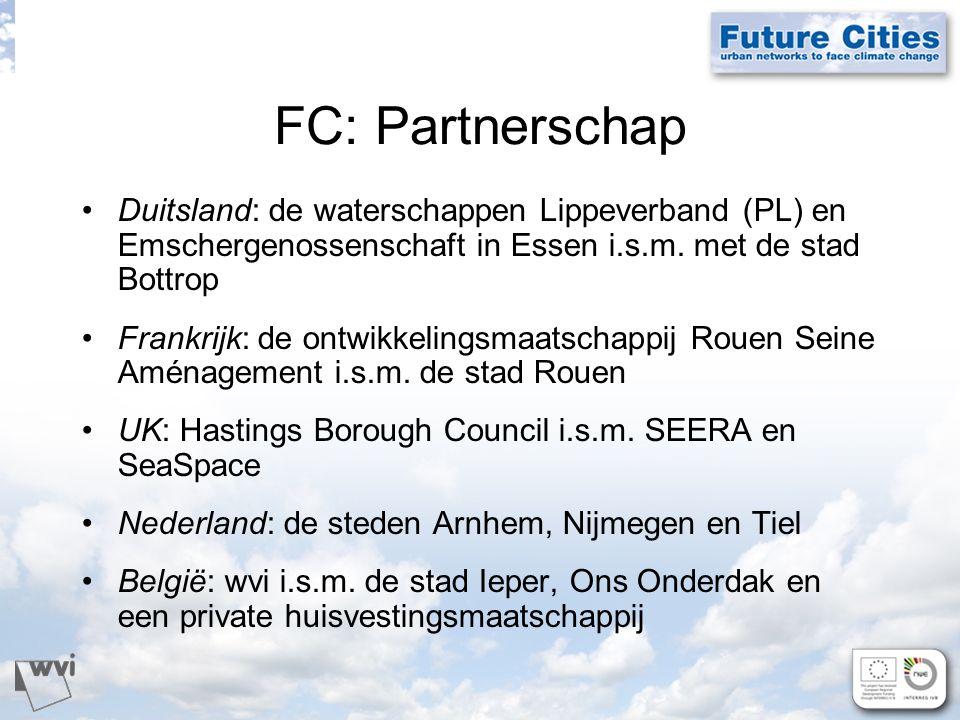 FC: Partnerschap Duitsland: de waterschappen Lippeverband (PL) en Emschergenossenschaft in Essen i.s.m.