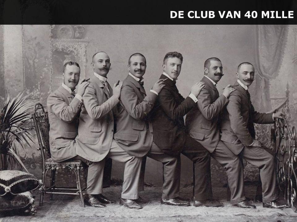 DE CLUB VAN 40 MILLE