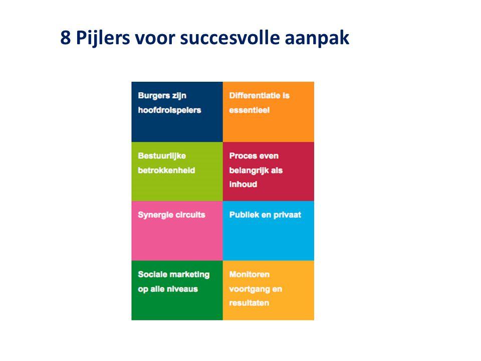 8 Pijlers voor succesvolle aanpak