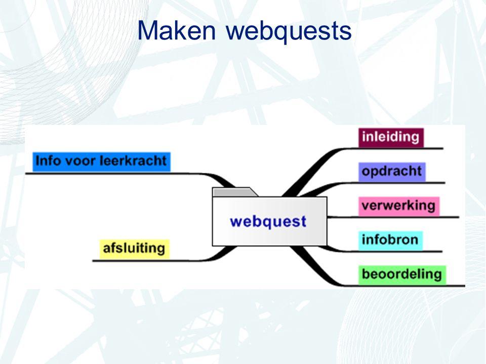 Maken webquests