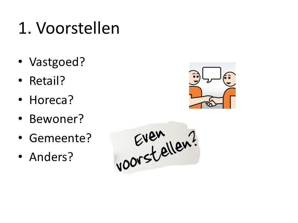 1. Voorstellen Vastgoed Retail Horeca Bewoner Gemeente Anders
