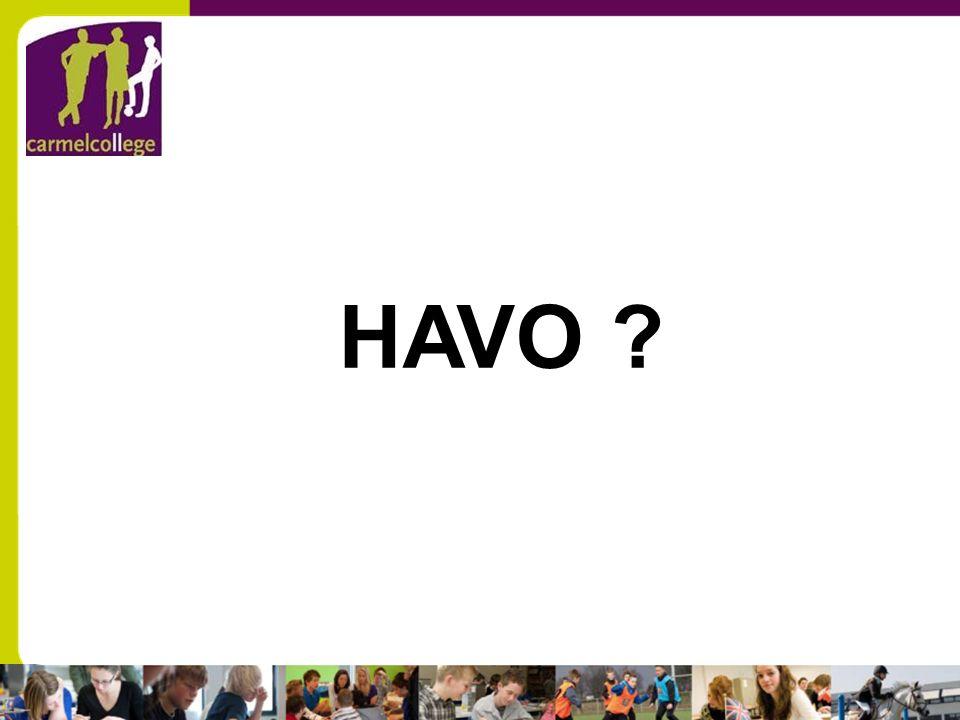 HAVO ?