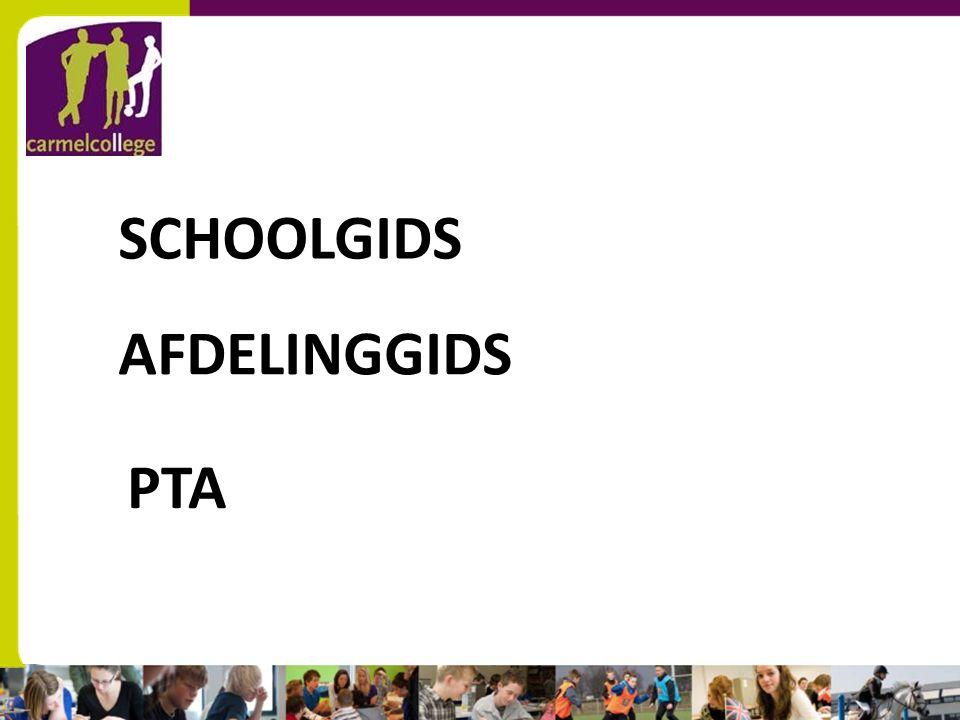 sn AFDELINGGIDS PTA SCHOOLGIDS