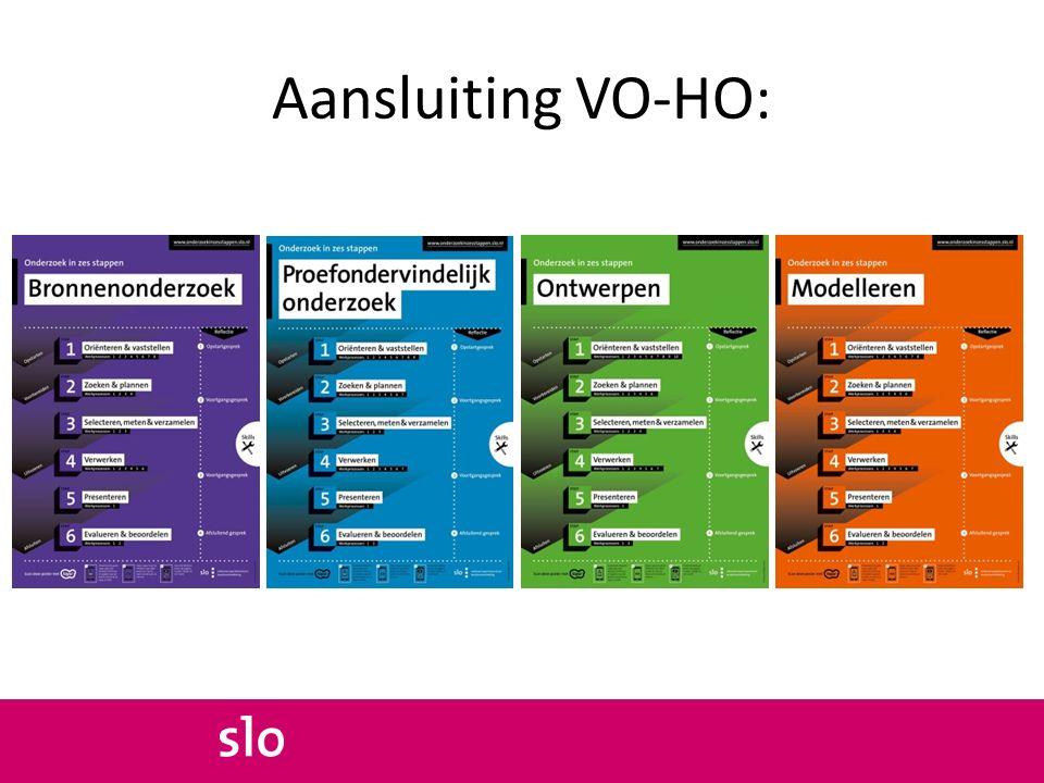 Aansluiting VO-HO: