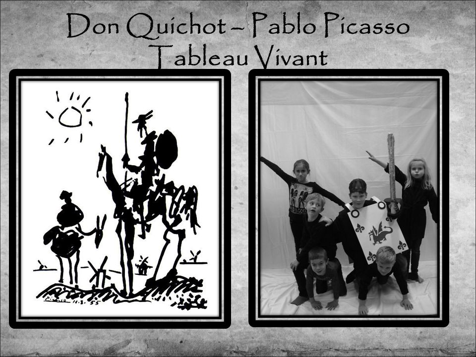 Don Quichot – Pablo Picasso Tableau Vivant